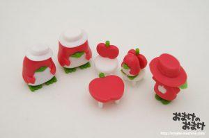 リンゴのデスク